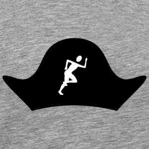 Pirate hat with Jogger - Men's Premium T-Shirt
