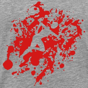 Jogger blood - Men's Premium T-Shirt