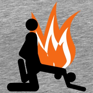 Hot sex of flame - Men's Premium T-Shirt