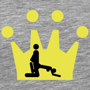 Sex from behind Crown - Men's Premium T-Shirt