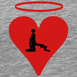 Sex heart Halo - Men's Premium T-Shirt