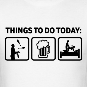 Funny Juggling Things To Do - Men's T-Shirt