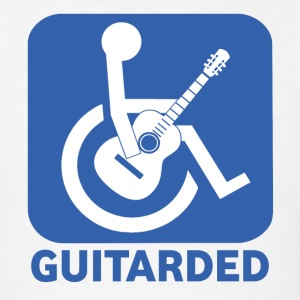 Guitarded - Men's T-Shirt