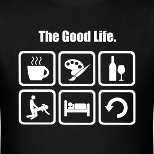 Painting The Good Life - Men's T-Shirt