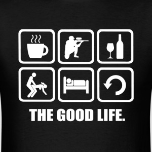 Paintball The Good Life - Men's T-Shirt