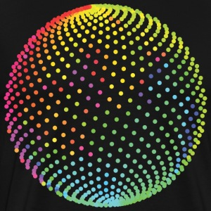 Nice Colouring Circle T-Shirts - Men's Premium T-Shirt
