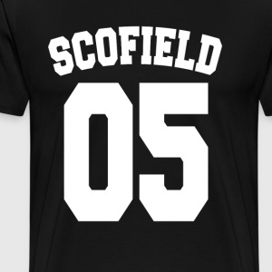 Scofield 05 - Men's Premium T-Shirt
