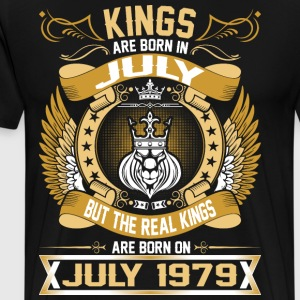 The Real Kings Are Born On July 1979 T-Shirts - Men's Premium T-Shirt