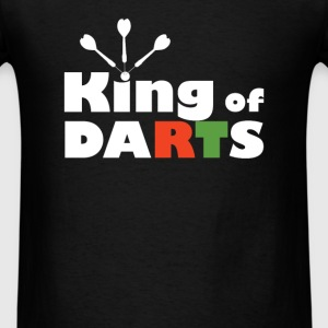 Darts - King of Darts - Men's T-Shirt