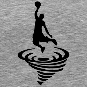 Basketball player icon - Men's Premium T-Shirt