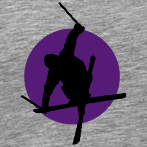 Ski freestyle icon - Men's Premium T-Shirt