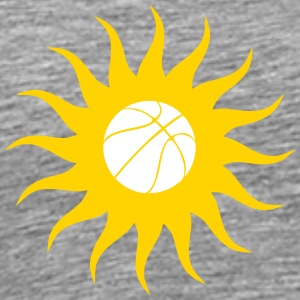 Basketball Sun - Men's Premium T-Shirt