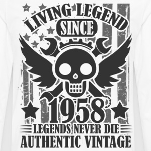 LIVING 1958 12A.png Long Sleeve Shirts - Men's Premium Long Sleeve T-Shirt