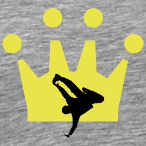Break dance King - Men's Premium T-Shirt