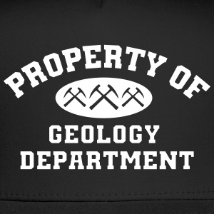 Property Of Geology Department Cap - Trucker Cap