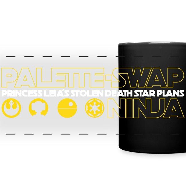 Palette-Swap Ninja - Princess Leia's Stolen Death Star Plans - Coffee Mug