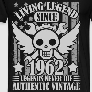 LIVING 1962 1A.png T-Shirts - Men's Premium T-Shirt