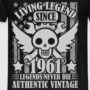 LIVING 1961 1A.png T-Shirts - Men's Premium T-Shirt