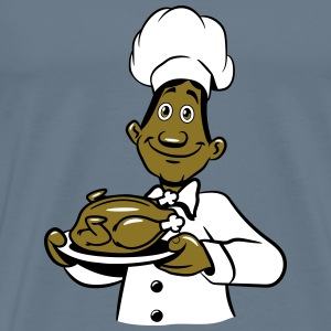 Cook cooking proud chicken T-Shirts - Men's Premium T-Shirt