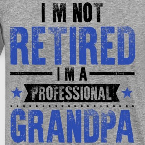 Retirement Grandpa T-Shirts - Men's Premium T-Shirt