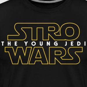 Stro Wars: The Young Jedi T-Shirts - Men's Premium T-Shirt