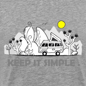 keep it simple T-Shirts - Men's Premium T-Shirt
