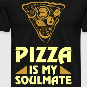 Pizza Is My Soulmate T-Shirts - Men's Premium T-Shirt