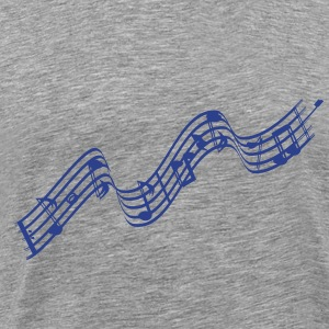 Sheet music - Men's Premium T-Shirt