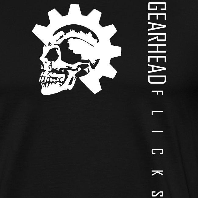 Skull chest & text sideways