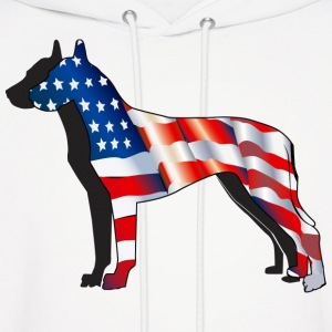 American Great Dane - Men's Hoodie