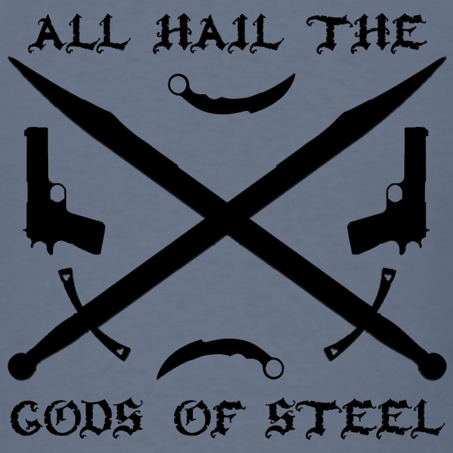 Gods of Steel - standard shirt