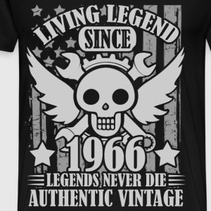living 1966 1a.png T-Shirts - Men's Premium T-Shirt