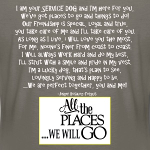 At your Service - Women's Premium T-Shirt