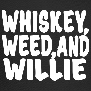 Whiskey, Weed and Willie Hat  - Trucker Cap