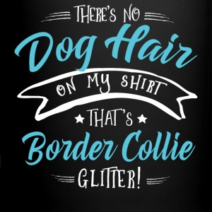 Dog Border Collie Glitter Mugs & Drinkware - Full Color Mug
