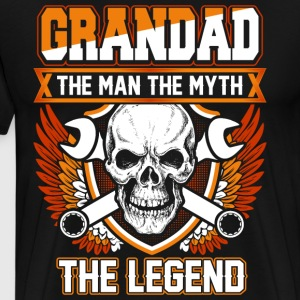 Grandad The Man The Myth The Legend T-Shirts - Men's Premium T-Shirt