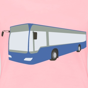 Blue bus - Women's Premium T-Shirt