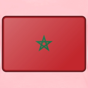 Morocco flag (bevelled) - Women's Premium T-Shirt