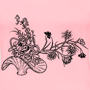 Basket of flowers 2 - Women's Premium T-Shirt