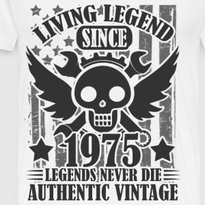 living 1975 2.png T-Shirts - Men's Premium T-Shirt