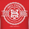 HBCU Strong - Men's Red and Ivory T-shirt - Men's T-Shirt