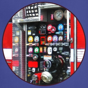 Colorful Gauges on Fire Truck Aprons - Adjustable Apron