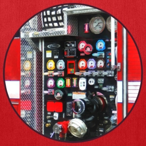 Colorful Gauges on Fire Truck Bags & backpacks - Tote Bag
