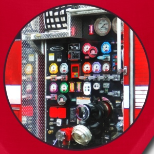 Colorful Gauges on Fire Truck Caps - Bandana