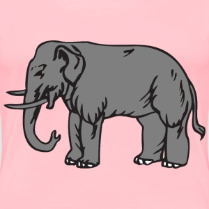 Elephant 8 - Women's Premium T-Shirt