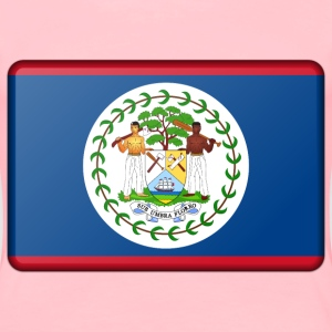 Belize flag (bevelled) - Women's Premium T-Shirt