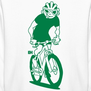 Mountain biker - MTB Kids' Shirts - Kids' Long Sleeve T-Shirt