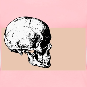 skull side view - Women's Premium T-Shirt