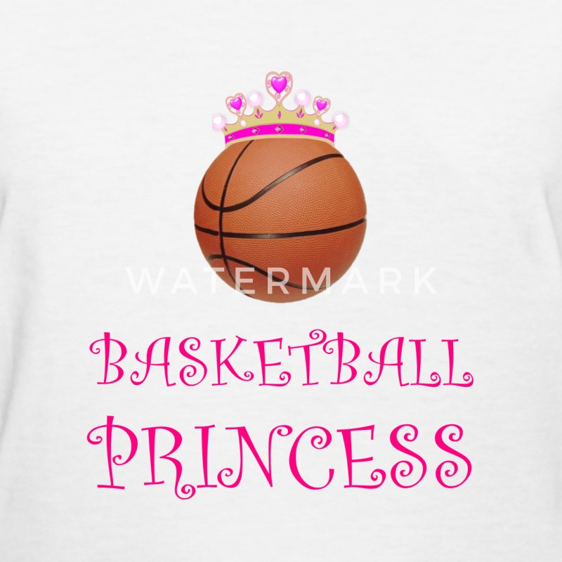 Basketball Princess T Shirt Spreadshirt Princess Basketball