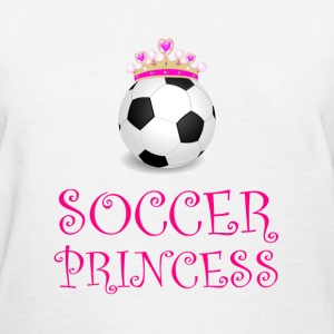 Soccer Princess - Women's T-Shirt